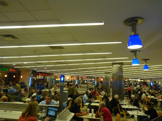 Atlanta Airport Restaurants (Photograph by Lettie January 2012)