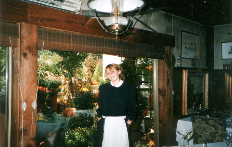 Chambermaid At The White Barn Inn Kennybunkport Maine The