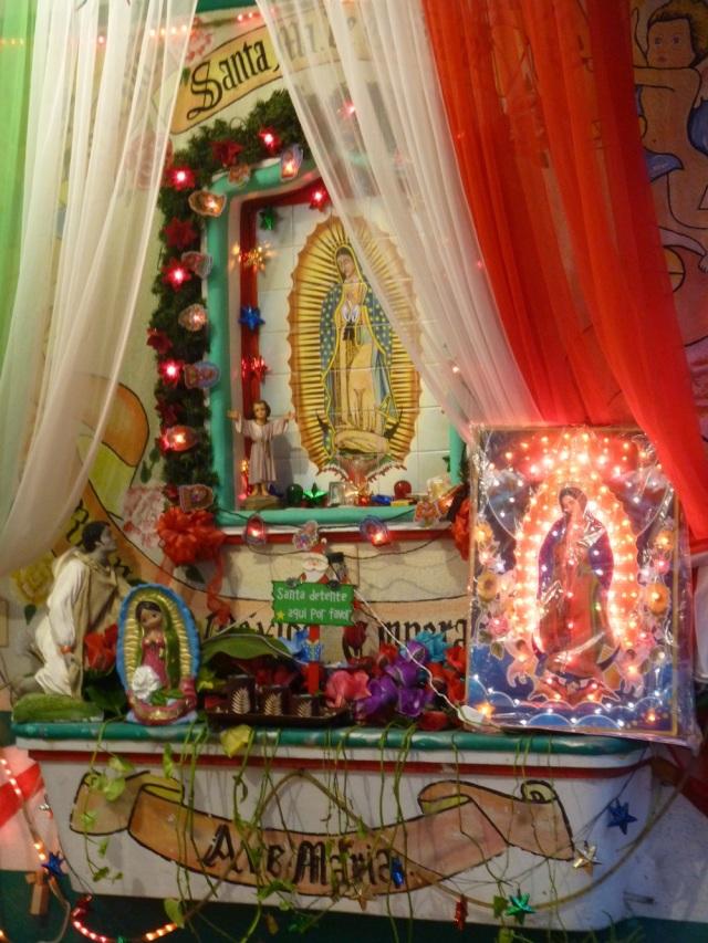 Mexico shrine January 2012