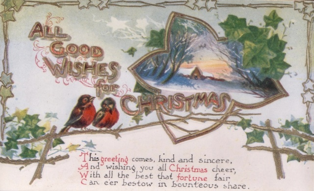 Old Christmas Postcard