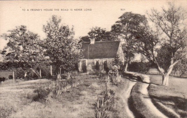 To A Friends House...(postcard undated)