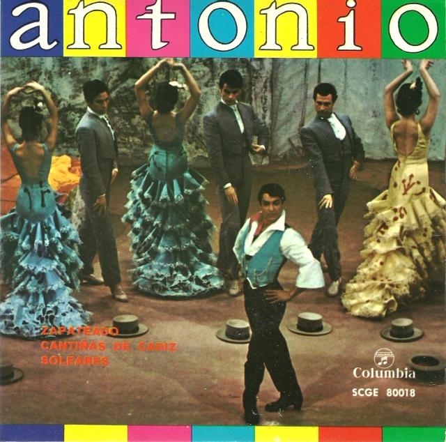 Antonio EP Columbia Records - Spanish Music Antonio...the combination needs no description.  The is complimentary to the other ....virile impetus, the indomitable fierceness ...irresistible sorcery, arise