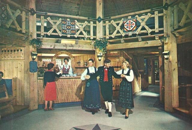 Elveseter Turisthotell Norge postcard
