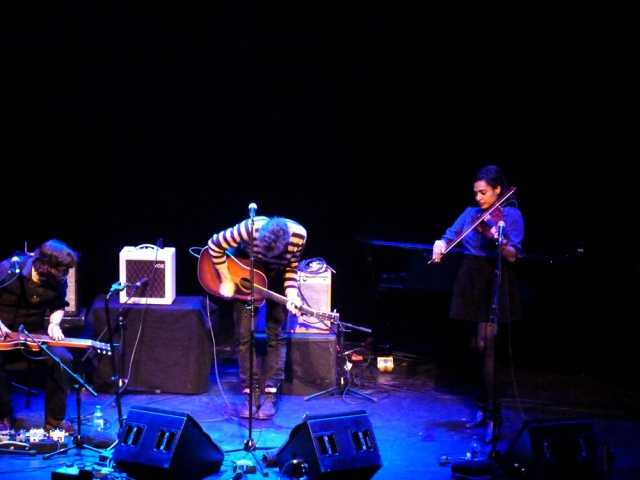Simone Felice band Supporting Conor Oberst Barbican 4th February 2013