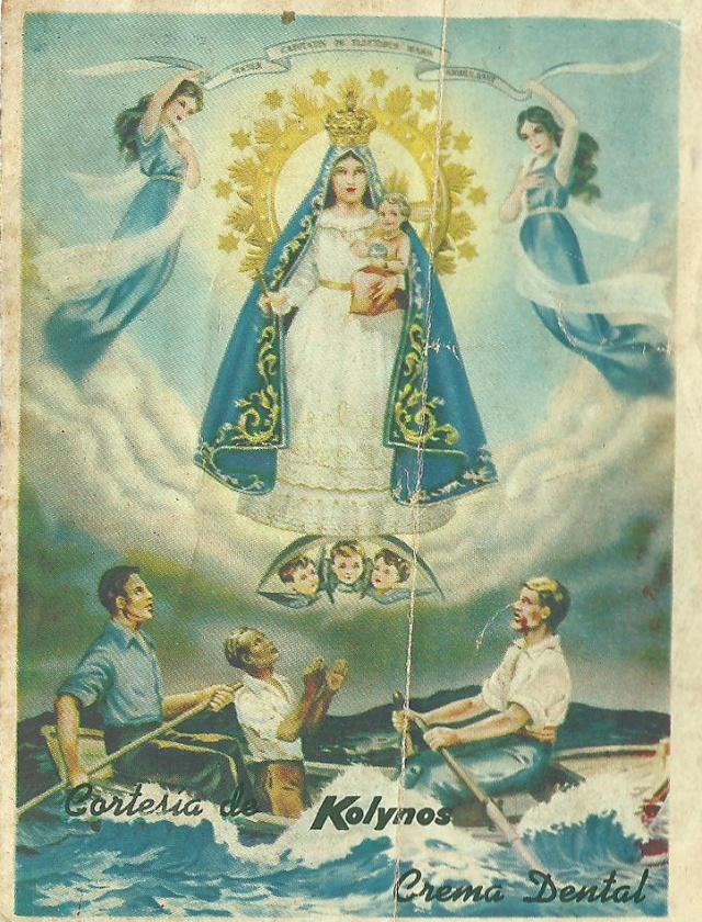24 Jun 1957 Dia de los Padrinos (written on back