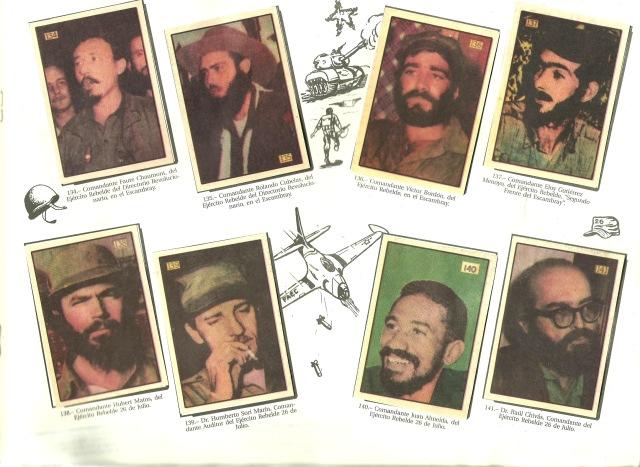 Another page From Album De L Revolucion Cubana 1952 1959 Cosuma Productos Cubanos