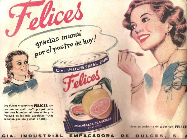 Back cover of Album De La Revolucion Cubana 1952 1959 Cosuma Productos Cubanos