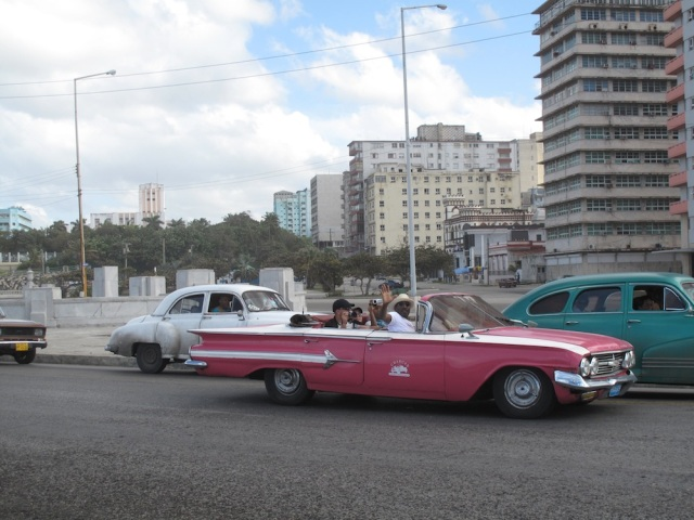 Photograph taken near the Nacional hotel, Havana by Lettie February 2013