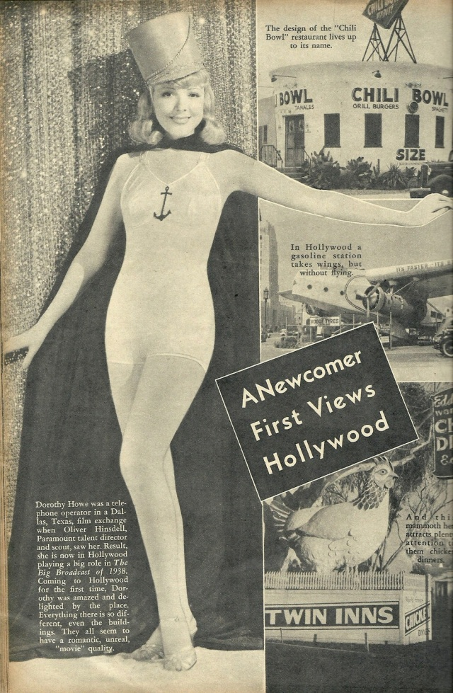 A Newcomer First Views Hollywood from Movie File January 1938
