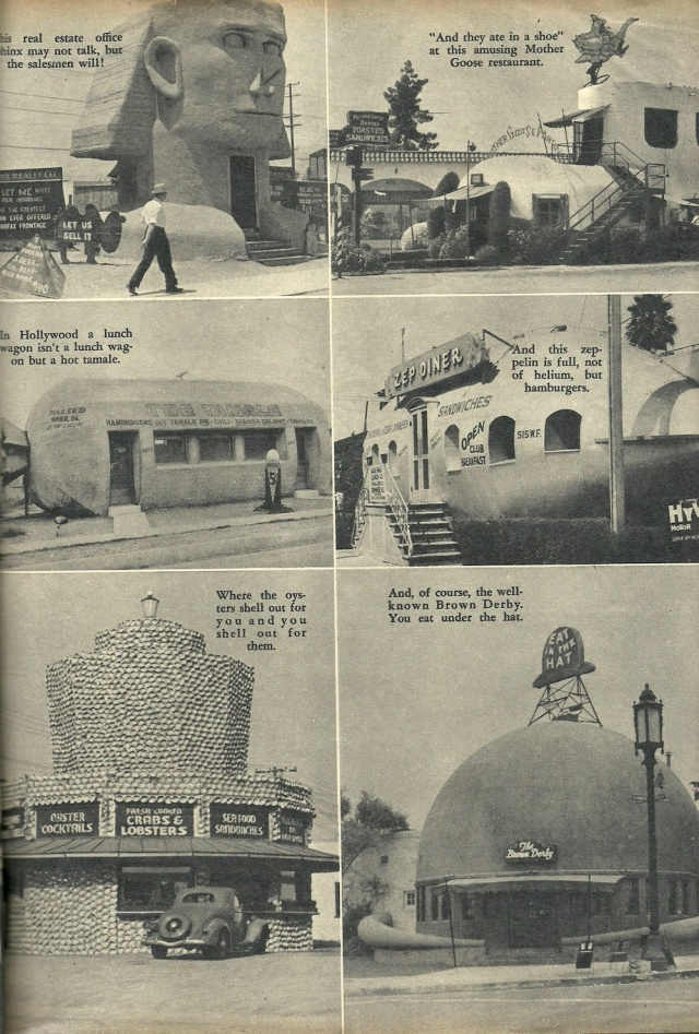 A Newcomer First Views Hollywood from Movie Life January 1938