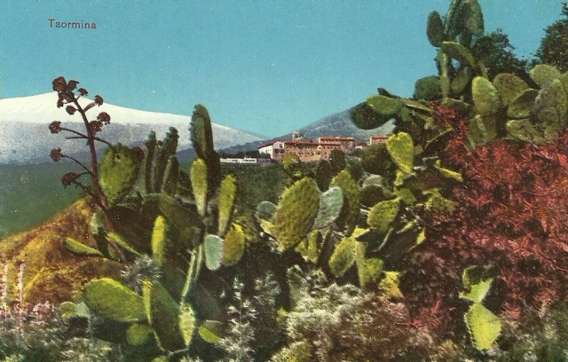 Cartolina Postale (Carte Postale) of Taormina unmarked
