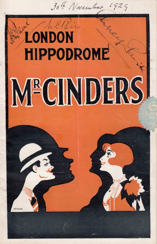 London Hippodrome Program 30th November1929