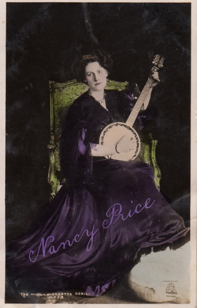 Nancy Rice The Mill on Glossette Series No 73 postcard to Else Hawker dated 1915