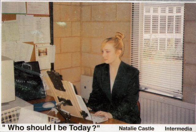Natalie Castle 5 Rollesby Way Lonodn SE28 0181 311 2369 printed by Woodgate-Loydor Ltd, Teddington, Middlesex