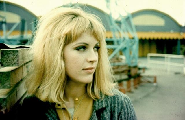 Pauline Boty at Battersea Fun Fair 1964 by Michael Seymour (Copyright Michael Seymour)
