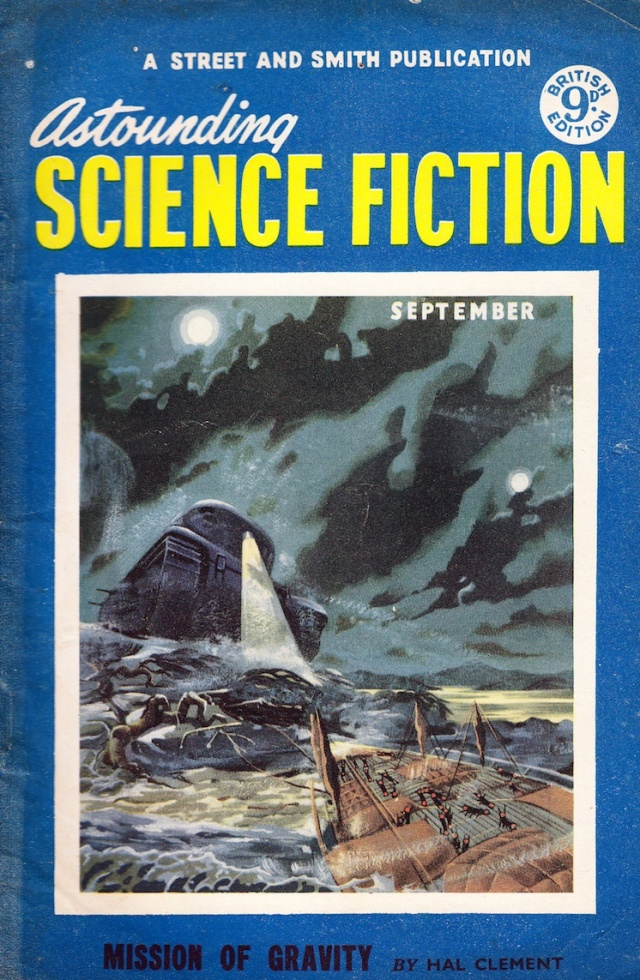 Astounding Science Fiction A Street and Smith Publication September Mission of Gravity by Hal Clement