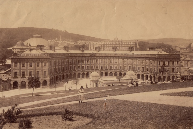 Unknown photograph Buxton Crescent