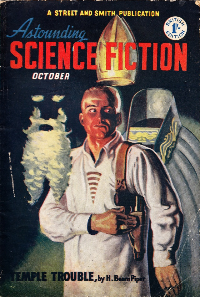 Astounding Science Fiction October1951 A Street and Smith Publication published by Atlast Publishing & Distribution Co. Ltd
