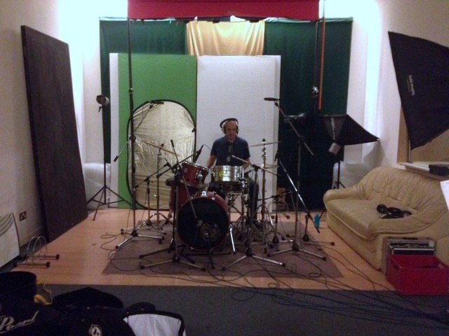 Dave Barbarossa in studio Oct 2013