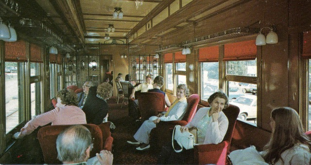 The Valley Railroad Deluxe Boston New York Train built in 1927