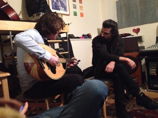 At Dada studios Bricklane 19 December 2013