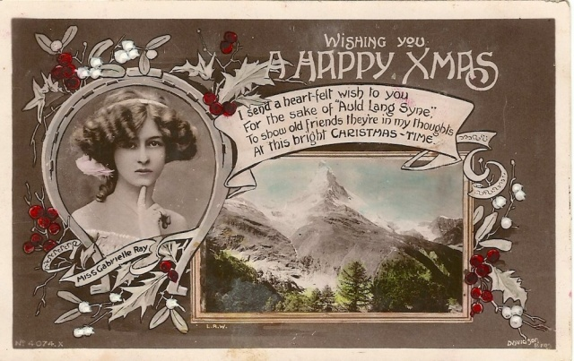 Dear Horace just a line to wish you all a very mery Xmas and a happy New Year from Ernie - Davidson Bros, Real photographic series. London and New York stamped Western Australia