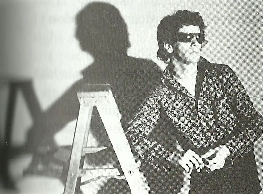Lou Reed photograph Billy Name: Factory Foto from Edie by Jean Stein edited with George Plimpton Grove Press New York