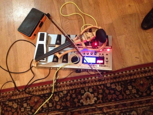 Richard Moore's gear Dada Studios, Bricklane 19 December 2013