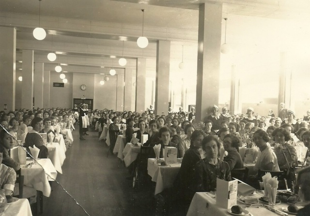 Unknown photograph of tea room