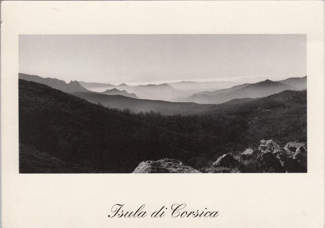 Corsica Foto di Francescu Cardi 1980 Muntange di Vicu in a matina Montagnes de Vico le martin copyright Francescu Cardi