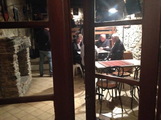 Francescu Marcantei at Tavagna Club Talasani Corsia