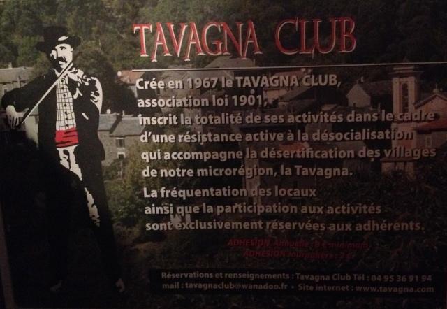 Tavagna Club 20230 Talasani 04 95 31 36 94