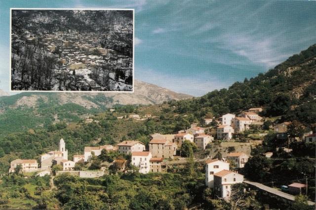 Villages de Corse Marignana Photographie J M Battini