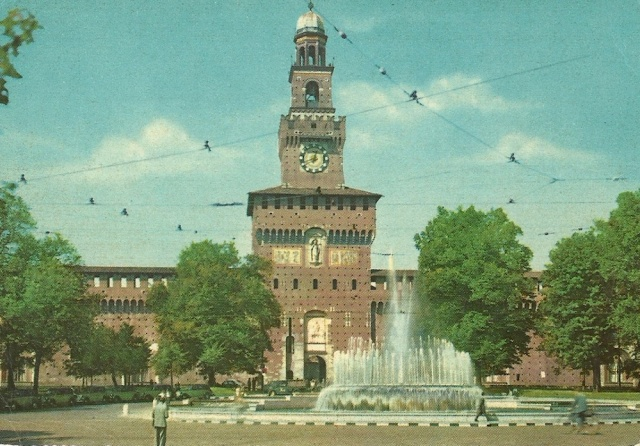 Milano The Sforza Castle