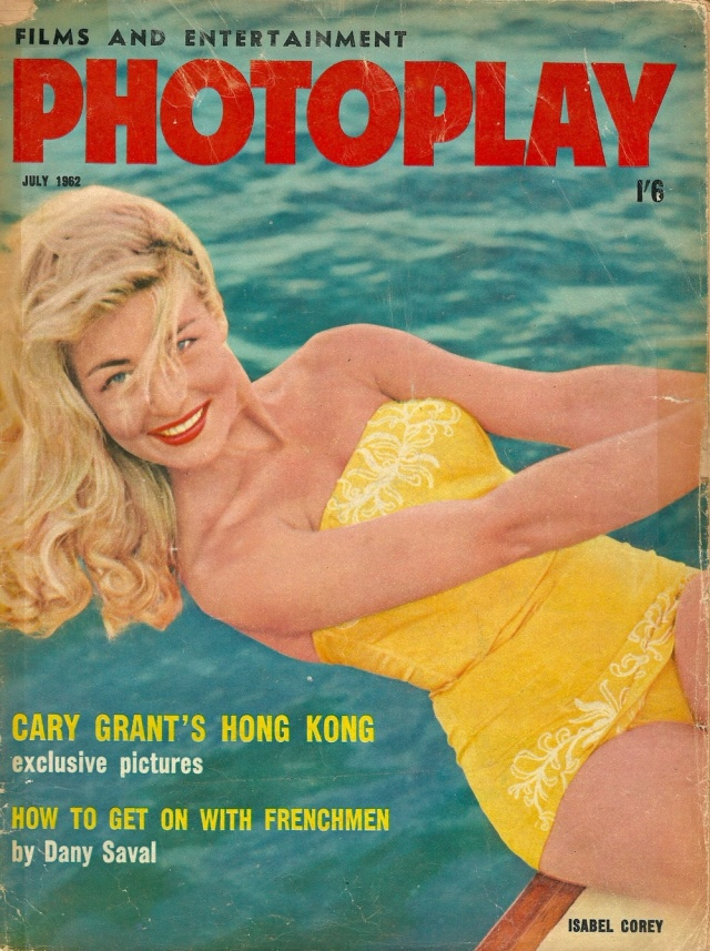 Films and Entertainment Photoplay July 1962 Isabel Corey