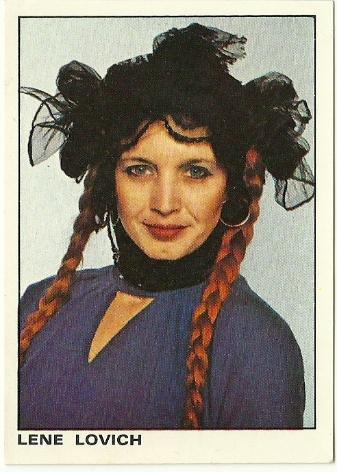 Lene Lovich born in Detroit moved to Hull..at 13 she ran away from home and worked selling hot-dogs, bingo caller...it was after signing with Stiff Records that success came her way hit singles have included Say When and Lucky Number