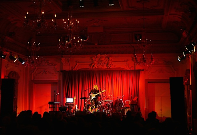 Lettie performing at Bush Hall on 5th June 2014