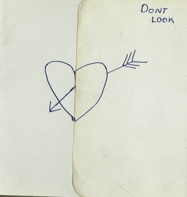 Message in Autograph book dated 1925