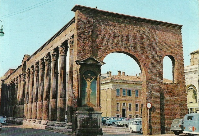 Milan The Columns of St Lorenzo 3 September 1964 addressed to Silvia Maggi Bergamo