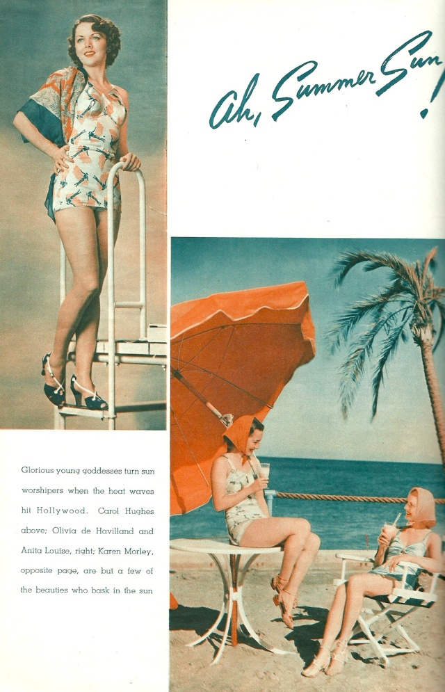 Ah Summer Sun! From Photoplay Magazine August 1937