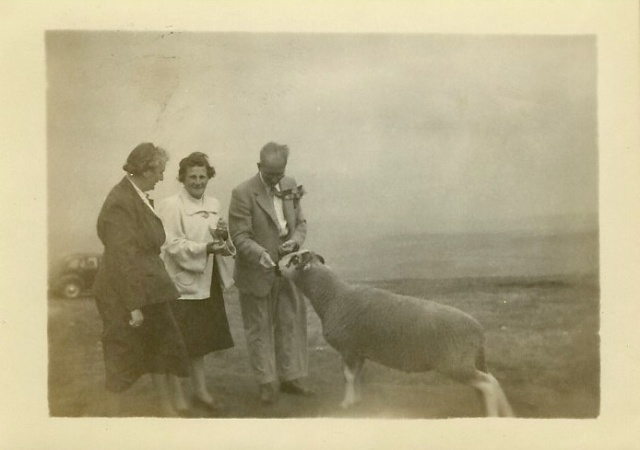 Another unknown photograph from same photo album Bridlington 1938