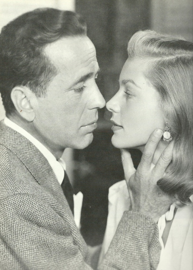 Humphrey Bogard and Laruen Bacall in Dark Passage (1947) Private lives leaking out onto the big screen, a Big Combo behind the secens as well as on celluloid from Screen Lovers by Anne Bilson 1988 photographs from the Kobal Collection