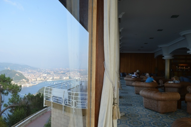 Hotel with a view San Sebastian September 2014