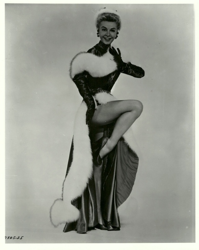Vera Ellen Publicity Photo Wearing the costume from the finale of 'White Christmas'