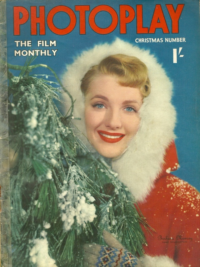 Photoplay Christmas Number Barbara Murray Rank Organisation December 1950 Vol No 10 Cover printed by Ben Johnson & Co Ltd York