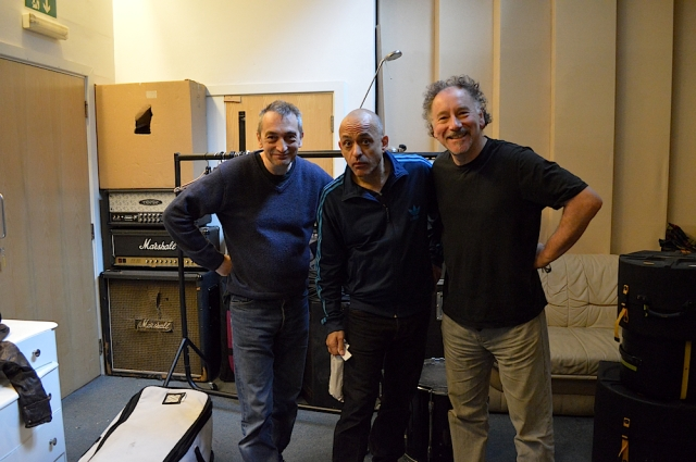 Adie, Dave and Mark at Unit 2 Studios London December 2014