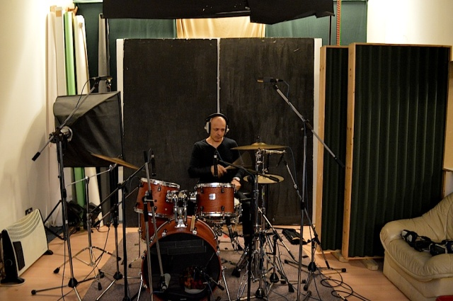 Dave Barbarossa in studio December 2014