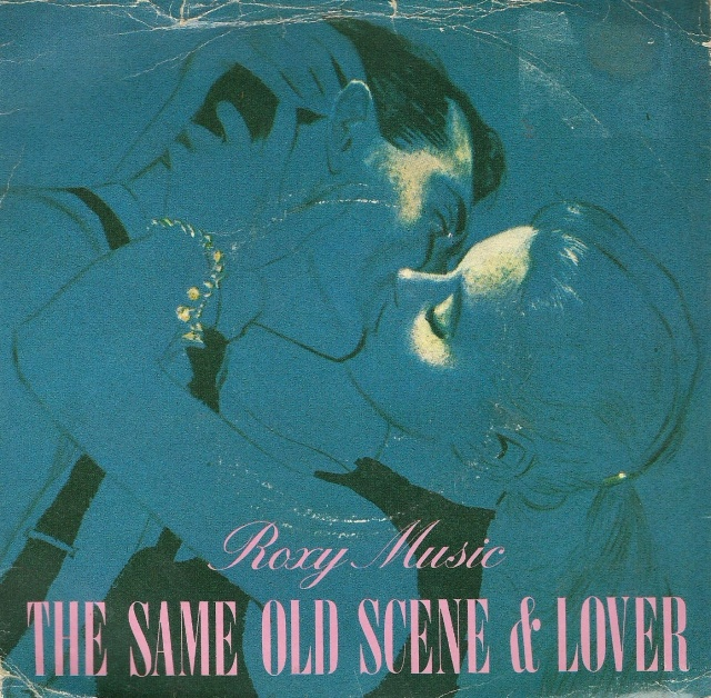 Single The Same Old Scene & Lover by Roxy Music 1980 E.G. Records Ltd