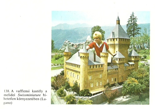 A Swissminiatur Melideben (Lugano) from A Giccs by Gillo Dorfles Gondolate Bupapest 1986