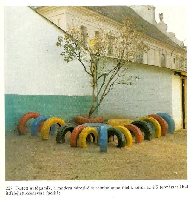 Tajkep festett autgumikkal from Gillo Dorfles Gondolat Budapest 1986
